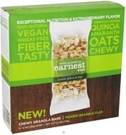 Earnest Eats - Chewy Granola Bars Power Grains & Flax - 5 Bars - $4.49