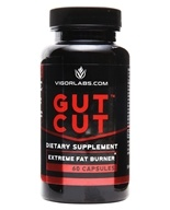 Vigor Labs - Gut Cut Fat Burner - 60 Capsules, from category: Diet & Weight Loss