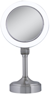 Zadro - Surround Lighted Vanity Mirror SLV410 Satin Nickel (705004418836)