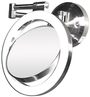 Image of Zadro - Surround Lighted Wall Mirror SLW410 Satin Nickel