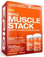 EPIQ - Muscle Stack Ultimate Lean Muscle Hardening System - 90 Caplets by EPIQ