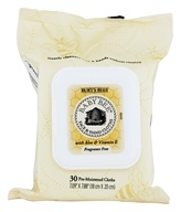 Burt's Bees - Baby Bee Face & Hand Cloths with Aloe & Vitamin E Fragrance Free - 30 Towelette(s)