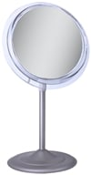 Zadro - Surround Light 5X Vanity Mirror SA45 Satin Nickel by Zadro