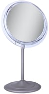 Image of Zadro - Surround Light 7X Vanity Mirror SA47 Satin Nickel