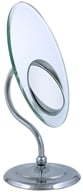 Zadro - Tri-Optics Vanity Mirror OVL37 Chrome by Zadro