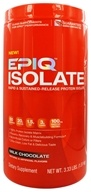 EPIQ - Isolate Rapid & Sustained-Released Protein Isolate Chocolate - 3 lbs. by EPIQ