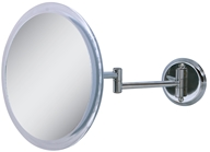 Zadro - Non-Lighted 5x Wall Mirror Z9W5 Chrome by Zadro