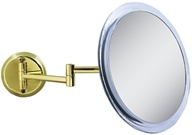 Zadro - Non-Lighted 5X Wall Mirror Z9WG Brass - $59.99