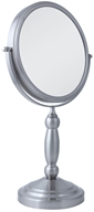 Zadro - Swivel 10X Vanity Mirror VAN410 Satin Nickel, from category: Health Aids