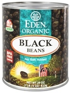 Image of Eden Foods - Organic Black Beans - 29 oz.