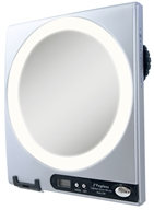 Image of Zadro - Z'Fogless LED Lighted Adjustable Magnification Mirror Z850 Silver