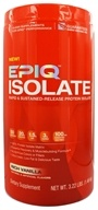 EPIQ - Isolate Rapid & Sustained-Released Protein Isolate Vanilla - 3 lbs., from category: Sports Nutrition