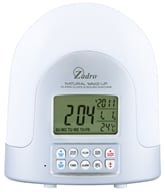 Zadro - Natural Sunlight Alarm Clock SUN01 White - $49.99