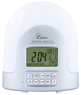 Zadro - Natural Sunlight Alarm Clock SUN01 White