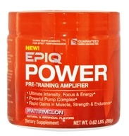 EPIQ - Power Pre-Training Amplifier Watermelon 40 Servings - 280 Grams (631656703955)