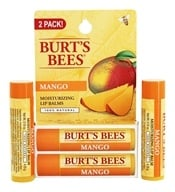 Burt's Bees - Lip Balm Nourishing with Mango Butter - Value Pack 2 x .15 oz. Tubes (792850012103)