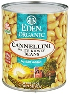 Eden Foods - Organic Cannellini White Kidney Beans - 29 oz., from category: Health Foods
