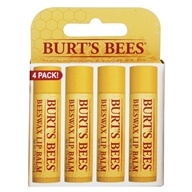 Burt's Bees - Beeswax Lip Balm - Value Pack 4 x .15 oz. Tubes