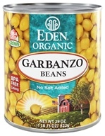 Eden Foods - Organic Garbanzo Beans - 29 oz. by Eden Foods