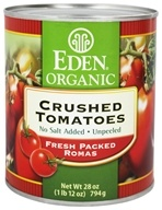 Eden Foods - Organic Crushed Roma Tomatoes - 28 oz., from category: Health Foods