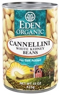 Eden Foods - Organic Cannellini White Kidney Beans - 15 oz., from category: Health Foods