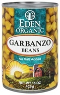 Eden Foods - Organic Garbanzo Beans - 15 oz., from category: Health Foods