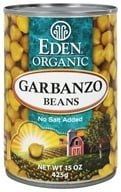 Eden Foods - Organic Garbanzo Beans - 15 oz. by Eden Foods