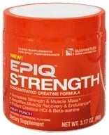 EPIQ - Strength Concentrated Creatine Formula Fruit Punch 60 Servings - 90 Grams - $33.32