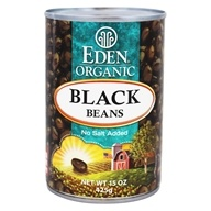 Eden Foods - Organic Black Beans - 15 oz., from category: Health Foods
