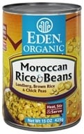 Eden Foods - Organic Moroccan Rice and Beans - 15 oz., from category: Health Foods