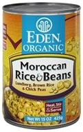 Eden Foods - Organic Moroccan Rice and Beans - 15 oz.