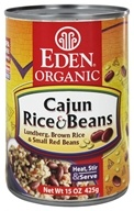 Eden Foods - Organic Cajun Rice and Beans - 15 oz., from category: Health Foods
