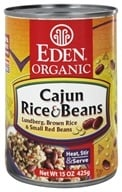 Image of Eden Foods - Organic Cajun Rice and Beans - 15 oz.