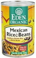 Eden Foods - Organic Mexican Rice and Beans - 15 oz.