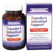 MRM - Traveler's Intestinal Support - 60 Vegetarian Capsules, from category: Nutritional Supplements