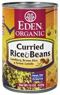 Eden Foods - Organic Curried Rice and Beans - 15 oz., from category: Health Foods