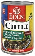 Eden Foods - Chili Organic Black Bean and Quinoa - 15 oz., from category: Health Foods