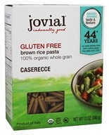 Image of Jovial Foods - Organic Gluten Free Caserecce Brown Rice Pasta - 12 oz.
