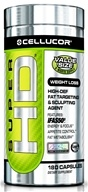 Image of Cellucor - Super HD Fat Targeting & Sculpting Agent Value Size - 180 Capsules