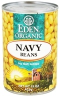 Eden Foods - Organic Navy Beans - 15 oz., from category: Health Foods