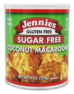 Jennies - Sugar Free Macaroons Loaded With Omega-3 Coconut - 8 oz., from category: Health Foods