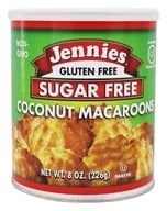 Jennies - Sugar Free Macaroons Loaded With Omega-3 Coconut - 8 oz. by Jennies