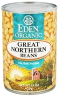 Eden Foods - Organic Great Northern Beans - 15 oz. (024182000870)