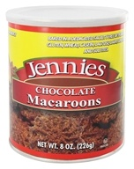 Jennies - Macaroons Chocolate - 8 oz. (071879124920)