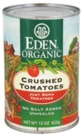 Eden Foods - Organic Crushed Roma Tomatoes - 15 oz.