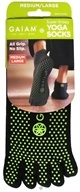 Image of Gaiam - Yoga Socks Super Grippy Medium/Large