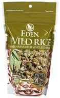Eden Foods - Wild Rice Hand Harvested Whole Grain - 7 oz., from category: Health Foods