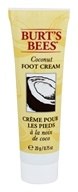 Burt's Bees - Foot Cream with Vitamin E Coconut - 0.75 oz. Travel Size Mini
