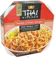 Image of Thai Kitchen - Rice Noodle Cart Sweet Citrus Ginger - 9.7 oz.