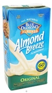 Blue Diamond Growers - Almond Breeze Almond Milk Original - 0.5 Gallon (041570052440)
